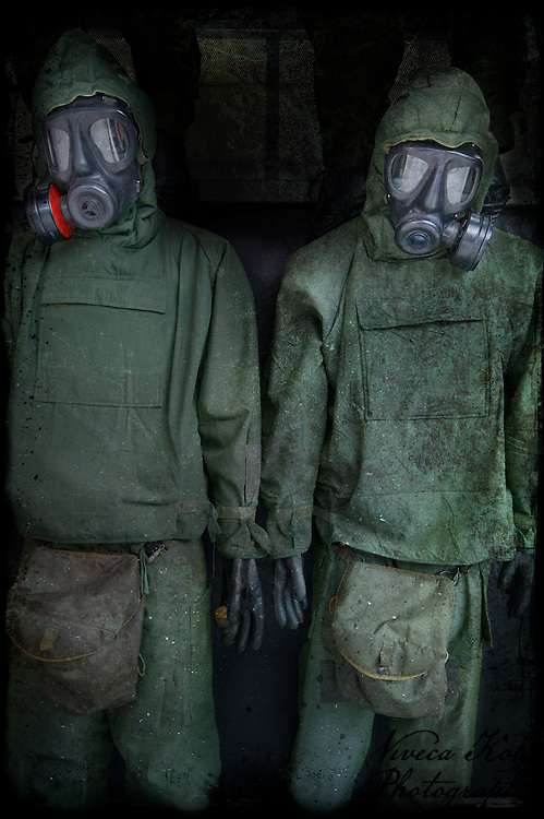 Garments for soldiers ready for gas attack http://www.vivecakohphotography.co.uk/2011/12/04/royal-photographic-society-visual-art-group-exhibition-2012/