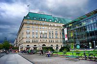 Berlino 16  Settembre 2013<br /> Hotel Adlon a Pariser Platz,