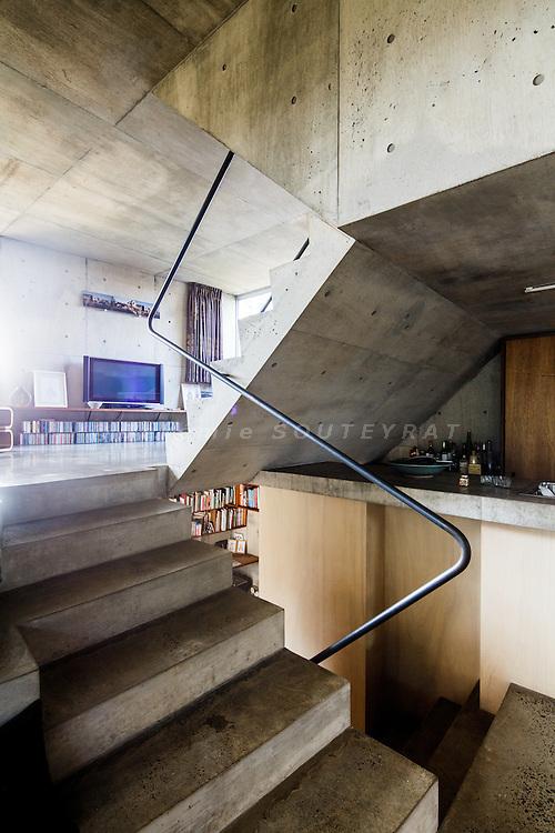 Tokyo, August 31st 2013 - Kata house by Manuel Tardits and Yuriko Kamo