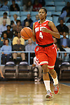 28 November 2012: Ohio State's Tayler Hill. The University of North Carolina Tar Heels played the Ohio State University Buckeyes at Carmichael Arena in Chapel Hill, North Carolina in an NCAA Division I Women's Basketball game. UNC won the game 57-54.