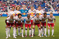 New York Red Bulls starting eleven. The New York Red Bulls and the San Jose Earthquakes played to a 2-2 tie during a Major League Soccer (MLS) match at Red Bull Arena in Harrison, NJ, on April 14, 2012.
