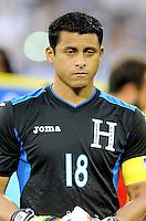 Washington, D.C.- May 29, 2014. Honduras goalkeeper Noel Valladares.  Turkey defeated Honduras 2-0 during an international friendly game at RFK Stadium.