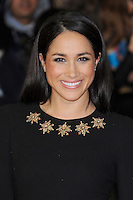 LONDON, ENGLAND - NOVEMBER 11: Meghan Markle attends the UK premiere of 'The Hunger Games: Catching Fire' at Odeon Leicester Square on November 11, 2013 in London, England<br /> CAP/BEL<br /> &copy;Tom Belcher/Capital Pictures /MediaPunch ***NORTH AND SOUTH AMERICAS ONLY***