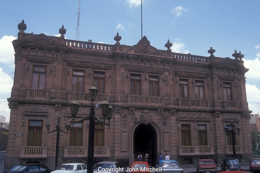 The Museo Nacional de la Mascara or National Museum of the <br /> Mask in San Luis Potosi, Mexico