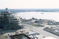 1983 April 18..Redevelopment...Downtown West (A-1-6)..WORLD TRADE CETNER .CONSTRUCTION  PROGRESS PHOTOS...NEG#.NRHA#..