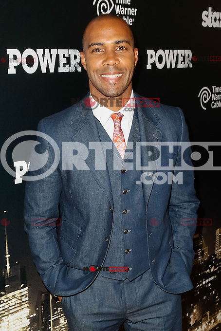 New York, NY -  June 2 : Actor Omari Hardwick attends the Power Premiere held at the Highline Ballroom on June 2, 2014 in New York City. Photo by Brent N. Clarke / Starlitepics