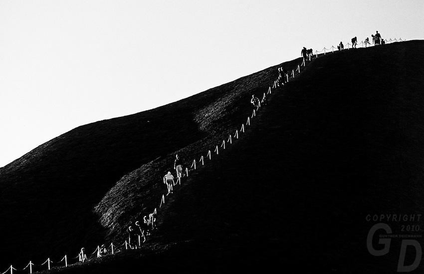 The Climb at Ayers Rock, Uluru National Park, Northern Territory,Central Australia