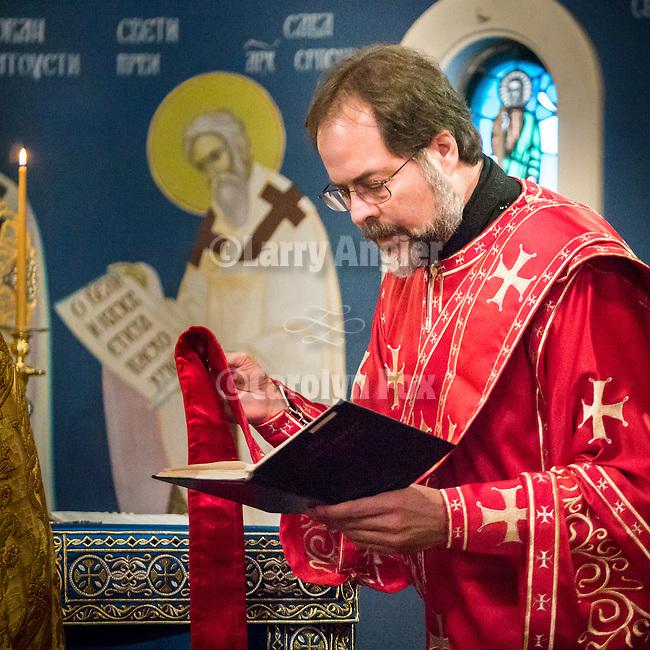 Christmas celebration with the Serbian Orthodox community of Jackson, Calif., St. Sava Church.