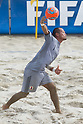 Shingo Terukina (JPN), SEPTEMBER 4, 2011 - Beach Soccer : FIFA Beach Soccer World Cup Ravenna-Italy 2011 Group D match between Ukraine 4-2 Japan at Stadio del Mare, Marina di Ravenna, Italy, (Photo by Enrico Calderoni/AFLO SPORT) [0391]