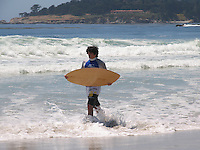 Carmel Beach, Monterey Peninsula, California, USA