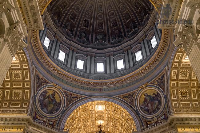 Jan. 30, 2014; St. Peter's Basilica, Rome (Photo by Matt Cashore/University of Notre Dame)