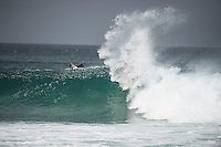 BELLS BEACH, Victoria/AUS (Monday, April 1, 2016) Courtney Conlogue (USA) - Action at the Rip Curl Pro Bells Beach, the second stop on the World Surf League (WSL) Championship Tour (CT), continued today with Round Four and two heats of Round Five. <br /> In the Women's event they finished the whole contest with Courtney Conlogue (USA) taking out his first bells win when she defeated Sally Fitzgibbons (AUS) in the 40 minute final. <br /> Conditions were virtually perfect fro most of the day before a strong North West wind put  some bump on the faces late in the day<br /> The swell was in the 4'-6' range breaking through the Bells Bowl.<br /> <br /> Bells Beach has been hosting surfing tournaments for more than 50 years now, making it the most renowned spot on the raw and rugged southern coast of Victoria, Australia. The list of  Rip Curl Pro event champions is a veritable who's who of surfing icons, including many world champions.<br /> <br /> Surfing's greats have a way of dominating Bells. Mark Richards, Kelly Slater, and Mick Fanning all have four Bells trophies; Michael Peterson and Sunny Garcia, three; While Simon Anderson, Tom Curren, Joel Parkinson, Andy Irons, and Damien Hardman each grabbed a pair.<br /> <br /> The story is similar on the women's side. Lisa Andersen and Stephanie Gilmore have four Bells titles; Layne Beachley and Pauline Menczer, three; while Kim Mearig and Sally Fitzgibbons each have two.<br /> <br /> The 2016 event is about to kick off tomorrow and there was a packed warm up session at Bells this morning. <br /> Photo: joliphotos.com