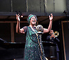 Ma Rainey's Black Bottom<br /> by August Wilson <br /> at the Lyttelton Theatre, National Theatre, London, Great Britain <br /> press photocall <br /> 1st February 2016 <br /> directed by Dominic Cooke <br /> <br /> Sharon D Clarke as Ma Rainey <br /> <br /> <br /> <br /> <br /> Photograph by Elliott Franks <br /> Image licensed to Elliott Franks Photography Services