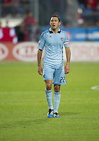 Sporting KC midfielder Davy Arnaud #22 in action during an MLS game between Sporting Kansas City and the Toronto FC at BMO Field in Toronto on June 4, 2011..The game ended in a 0-0 draw...