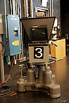 USA, Massachusetts, Boston. Television camera 3 at WGBH Studios.