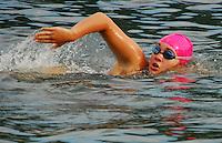 Triathlon - Pink Swim Caps - Badger State Games '08