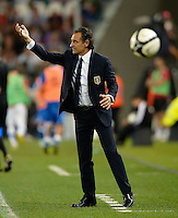 Fussball International  WM Qualifikation 2014   10.09.2013 Italien - Tschechien Trainer Cesare Prandelli (Italien)