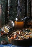 """Europe/France/Bretagne/22/Côtes d'Armor/Chateau de Rosambo: Ragoût d'ormeaux - Recette de """"l'hôtel des Iles"""""""