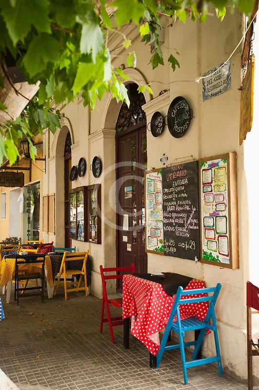 Uruguay, Colonia del Sacramento, Restaurant exterior