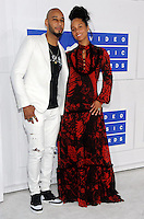 NEW YORK, NY - AUGUST 28:Swizz Beatz and Alicia Keys attend the 2016 MTV Video Music Awards at Madison Square Garden on August 28, 2016 in New York City Credit John Palmer / MediaPunch