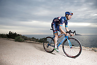 Antoine Demoiti&eacute; (BEL/Wanty-Groupe Gobert)<br /> <br /> Team Wanty-Groupe Gobert 2016 pre-season training camp<br /> Benidorm, Spain