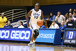 27 October 2013: Chelsea Gray. The Duke University Blue Devils played their annual preseason Blue White women's college basketball game at Cameron Indoor Stadium in Durham, North Carolina.