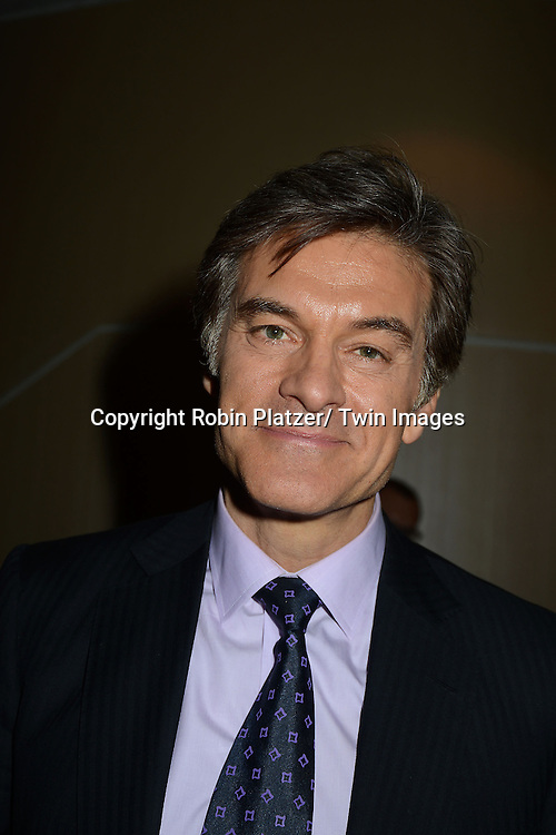 Dr Mehmet Oz attend the National Magazine Awards on May 2, 2013 at the Marriott Marquis Hotel in New York City.