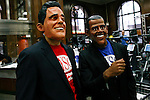 Romney and Obama take part during the &quot;Run up to the Election&quot; in NYC