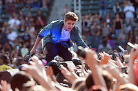 05/12/12 Carson, CA Justin Bieber  during KISS FM's Wango Tango concert held at the Home Depot Center