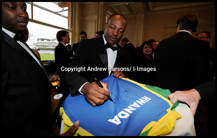 RCSF Cricket Dinner at Lords Cricket Ground, London. Thursday May 10, 2012.Photo by Andrew Parsons /i-Images