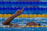 Cesar Cielo Filho (BRA) competes in the 100 m Men's Freestyle Swimming competition during the 13th FINA Swimming World Championships held in Rome, Italy. Thursday, 30. July 2009. ATTILA VOLGYI