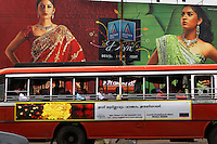 Billboards about Jewelry in and around Cochin...Cochin is the commercial capital of the state of Kerala.  ..Most images are shot in twin town of Ernakulam which is across the small ocean area to the island of Cochin..Main contact is fixer Vinay Diddee his wife Neha made many of the arrangements..vinaydiddee@latitude.co.in.house number is +91 80 4132 0578. Vinay cell +91 98450 91377 and Neha's +91 98450 53695..Also a friend of Brook's helped us:.Mathew T. George.9995076160