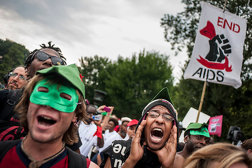 AIDS Activists March in Washington, D.C.