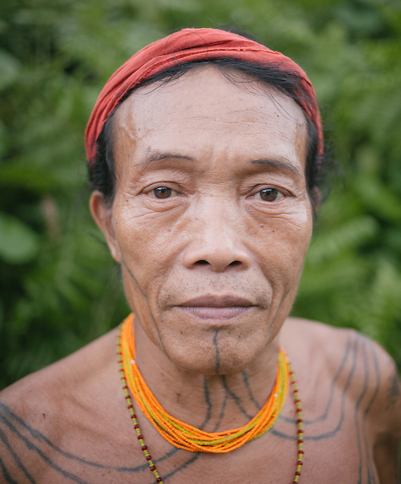 Aman Lau Lau, a Mentawai shaman or usually called Sikerei, living in the village of Buttui. The Mentawai are the tribes living traditionally in the island of Siberut, Indonesia. Here, where the changes came slow, some of the people are still living like their ancestors did centuries ago. They s till practice ancient religion called Arat Sabulungan, which believe that everything in the forest has a spirit.
