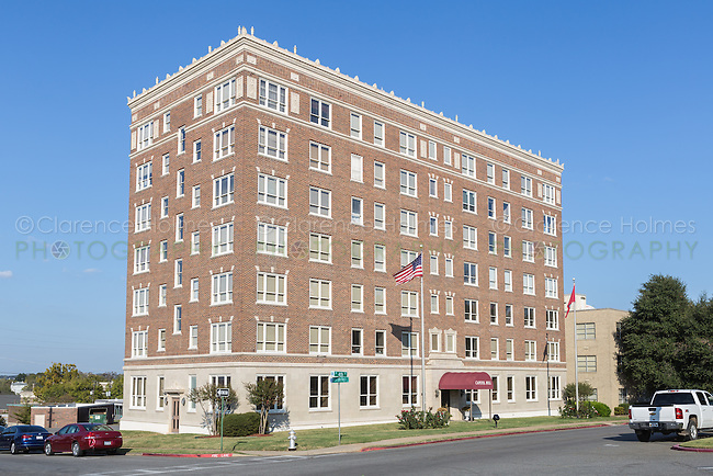 The Capitol Hill apartments in Little Rock, Arkansas.