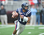 Ole Miss' Barry Brunetti (1) at the  Grove Bowl in Oxford, Miss. on Saturday, April 16, 2011.