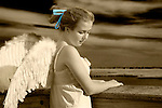 Angel at Pier in Long Island, New York. (MR)