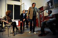 Corso di teatro di Lucia Panaro. Prove dello spettacolo.Roberto Caire. Theatre course Lucia Panaro. Rehearsals for the show.