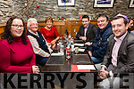Mark Gilligan from Valentia celebrated his 30th birthday with family in Camo's Restaurant, Cahersiveen on Friday evening pictured here l-r; Elaine Murphy, Bridie, Angela, T.J., Tommy & Mark Gilligan.