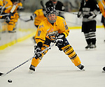 29 December 2007: Quinnipiac University Bobcats' forward Jean-Marc Beaudoin, a Sophomore from St. Paul, Alberta, in action against the Western Michigan University Broncos at Gutterson Fieldhouse in Burlington, Vermont. The Bobcats defeated the Broncos 2-1 in the first game of the Sheraton/TD Banknorth Catamount Cup Tournament...Mandatory Photo Credit: Ed Wolfstein Photo