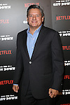 """Netflix Chief Content Officer Ted Sarandos at the NETFLIX PRESENTS THE NEW YORK PREMIERE OF """"THE GET DOWN"""" Held at Lehman College in the Bronx"""