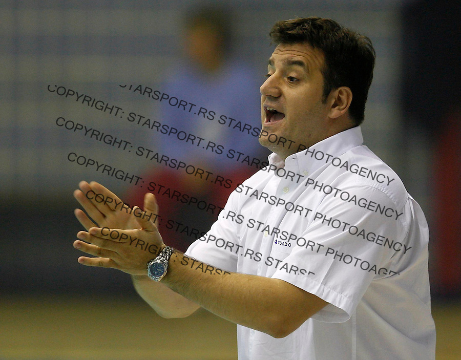 Vaterpolo, Liga Sampiona, season 2006/07&amp;#xA;Partizan Vs. Mladost (Zagreb)&amp;#xA;Dejan Udovicic, head coach&amp;#xA;Beograd, 16.12.2006.&amp;#xA;foto: Srdjan Stevanovic<br />