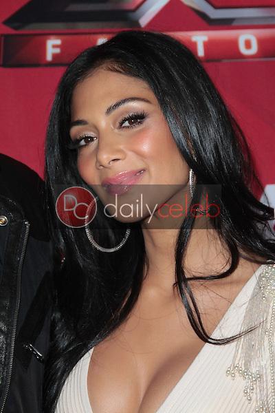 Nicole Scherzinger<br /> at &quot;The X Factor&quot; Press Conference, CBS Televison City,  Los Angeles, CA 12-19-11<br /> David Edwards/DailyCeleb.com 818-249-4998