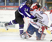 Adam Mueller (Mankato - 24), Doug Carr (Lowell - 31) - The visiting Minnesota State University-Mankato Mavericks defeated the University of Massachusetts-Lowell River Hawks 3-2 on Saturday, November 27, 2010, at Tsongas Arena in Lowell, Massachusetts.