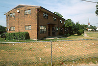 1993 June 21..Assisted Housing.Calvert Square..BEFORE RENOVATIONS.ROLL 7-3.LOOKING AT 744 EAST OLNEY...NEG#.NRHA#..