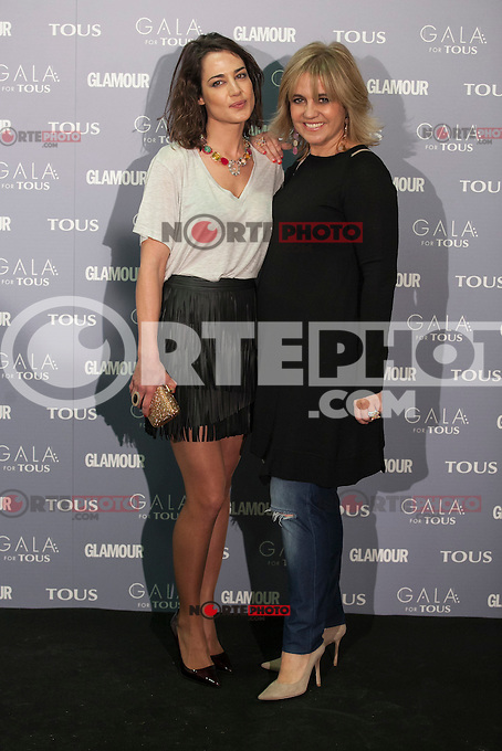 Ana Bono and Rosa Tous pose for the photographers during TOUS presentation in Madrid, Spain. January 21, 2015. (ALTERPHOTOS/Victor Blanco) /NortePhoto<br />
