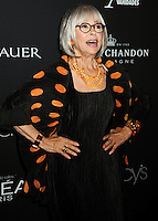 NEW YORK CITY, NY, USA - SEPTEMBER 18: Rita Moreno arrives at the 2014 Icons Of Style Gala Hosted By Vanidades held at the Mandarin Oriental Hotel on September 18, 2014 in New York City, New York, United States. (Photo by Celebrity Monitor)