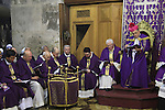 Israel, Jerusalem Old City, the Latin Patriarch of Jerusalem Fouad Twal at the Church of the Holy Sepulchre on Sunday of Lent