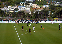 Action from the Oceania Football Championship final (second leg) football match between Team Wellington and Auckland City FC at David Farrington Park in Wellington, New Zealand on Sunday, 7 May 2017. Photo: Mike Moran / lintottphoto.co.nz