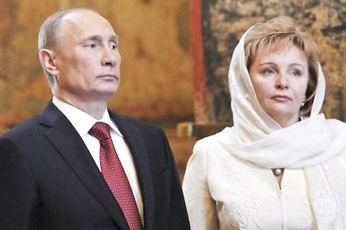 Putin y su esposa Liudmila